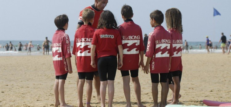 Family Group Surf Lessons in Hossegor