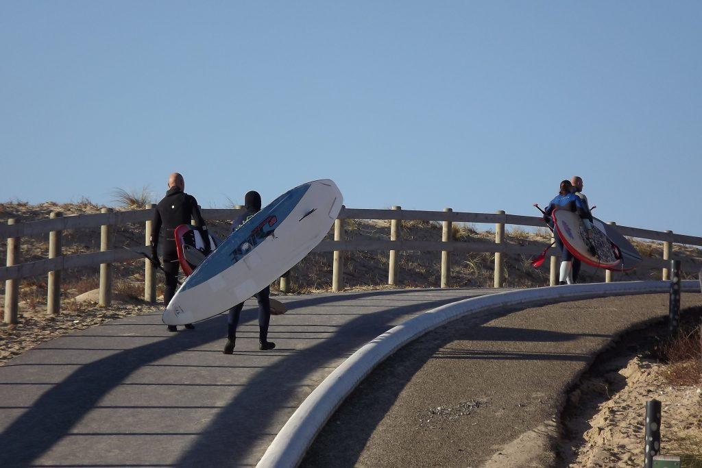 Christmas surf guiding