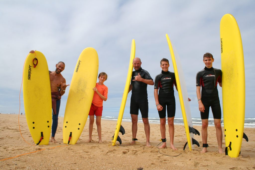 Private Family Group Surf Lessons Hossegor