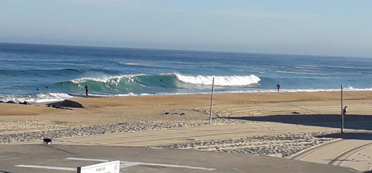 Hossegor this morning